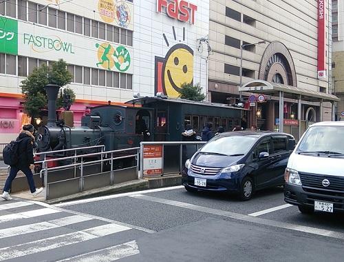 愛媛県松山市の坊ちゃん列車